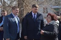 Олег Фурсов посетил несколько дворов Советского района