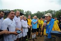 Николай Меркушкин на XLII Грушинском фестивале