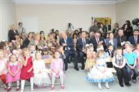 Николай Меркушкин открыл детский сад в микрорайоне Волгарь