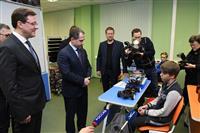"""Михаил Бабич и Дмитрий Азаров посетили технопарк """"Жигулевская долина"""""""