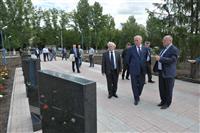 Николай Меркушкин считает, что мемориальный комплекс в Алексеевке нуждается в реконструкции
