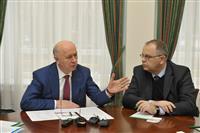 Губернатор Самарской области Николай Меркушкин встретился с делегацией Люксембурга