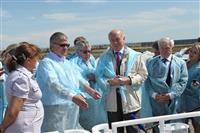 Руководитель области открыл новую животноводческую ферму в селе Богдановка