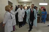 Уполномоченный по правам ребенка при Президенте РФ Павел Астахов посетил больницу имени Семашко в Самаре