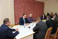 Олег Мельниченко  провел прием граждан поселка Рощинский