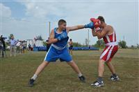 На День физкультурника в село Красноармейское приехали именитые боксеры