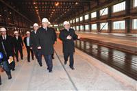 """Губернатор Николай Меркушкин посетил с рабочим визитом завод железобетонных конструкций """"Корпорации КОШЕЛЕВ"""""""
