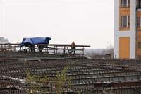 Строители Фрунзенского моста завершили монтаж крайних участков пролетного строения