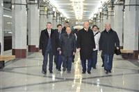 Николай Меркушкин протестировал станцию метро «Алабинскую»