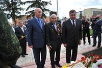 Николай Меркушкин в Кошках почтил память героев Великой Отечественной войны