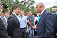 Губернатор проверил, как идет ремонт Лесопаркового шоссе в Тольятти