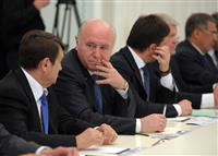 Николай Меркушкин принял участие в совещании, которое провел Владимир Путин