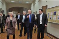 Николай Меркушкин накануне Дня студента посетил архитектурно-строительный университет