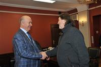 Николай Меркушкин и Олег Митяев обсудили подготовку к Грушинскому фестивалю