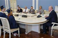 Губернатор Николай Меркушкин вручил дипломы выпускникам Поволжского государственного университета телекоммуникаций и информатики