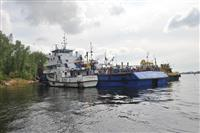 У острова Поджабный столкнулись два судна, одно оказалось подтоплено