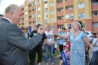 """Губернатор дал старт строительству школы в """"Южном городе"""""""