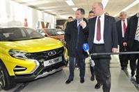 Полномочный представитель президента РФ в ПФО Михаил Бабич посетил Волжский автомобильный завод