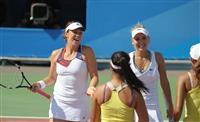 Пара Павлюченкова - Веснина выиграла теннисный финал универсиады