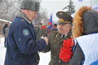 В Самаре в честь 23 февраля цветы к Вечному огню возложили полторы тысячи человек