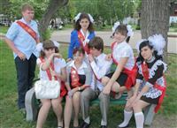 Школьники и спиртное в день последнего звонка