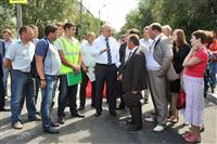 Встреча  Николая Меркушкина с жителями Сызрани