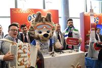 Послы чемпионата мира по футболу представили Самару накануне жеребьевки