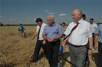 "Николай Меркушкин посетил  ООО СХП ""Олимп-Агро"""