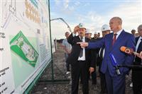 Николай Меркушкин осмотрел комбикормовый завод Сергиевской птицефабрики в Кинель-Черкасском районе
