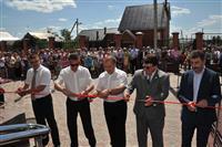 В селе Кинель-Черкассы открыт новый спорткомплекс