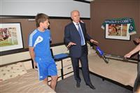 Николай Меркушкин поставил задачу выделить футбольной академии Коноплева бюджетное финансирование
