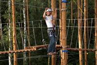 Для молодых туристов в губернии организуют веревочный воздушный парк