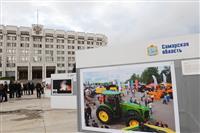 На площади Славы открылась фотовыставка в честь 160-летия губернии
