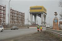 По мосту на плотине Жигулевской ГЭС пустили движение большегрузов
