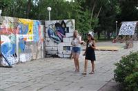 StreetArtFest оживил сквер на площади Куйбышева с помощью граффити
