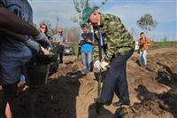 Губернатор принял участие в восстановлении леса в Тольятти