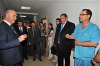 Николай Меркушкин  посетил центральную больницу Безенчукского района