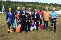 Михаил Бабич и Николай Меркушкин наградили победителей кубка ПФО по парашютному спорту