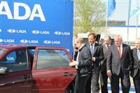 Владимир Путин протестировал Lada Granta