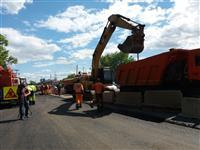 """ООО """"Самаратрансстрой"""" завершает ремонт Красноглинского шоссе"""