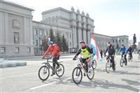 """В Самаре прошел фестиваль """"Открытие летнего велосезона"""""""