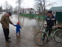 В селе Сухая Вязовка Волжского района затоплено 36 домов