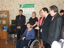 Презентация функционала Умной палаты вице-губернатору Самарской обл. Кобенко А.В. в Центре реабилитации инвалидов Преодоление (г.Тольятти)