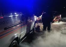При столкновении бензовоза и легковушки под Тольятти два человека погибли и один пострадал