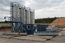 Новейшая современная установка по производству битумной эмульсии на территории АБЗ в пос.Курумоч