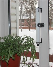 Привод для автоматического проветривания помещения