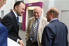 Н.Б.Удалов (в центре) – заместитель председателя совета Евразийского партнерства авиационно-космических кластеров