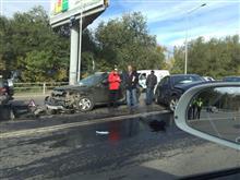 В масштабном ДТП на ул. Ново-Садовой повреждено 11 автомобилей