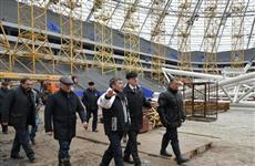 Власти региона проверили ход работ на основных объектах, возводимых к чемпионату мира