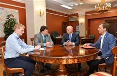 Николай Меркушкин обсудил ситуацию в сельском хозяйстве с главой минсельхоза и руководителем КРСО